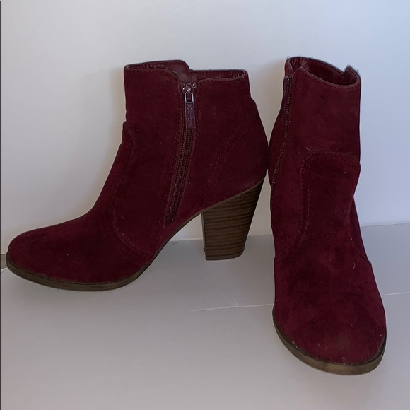Breckelles Shoes - Suede Ankle Boots